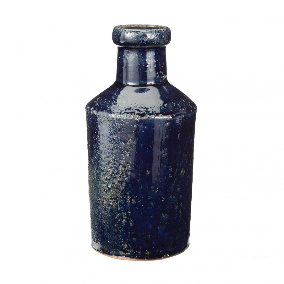 Ваза Rustic Denim Milk Bottle Dimond Home