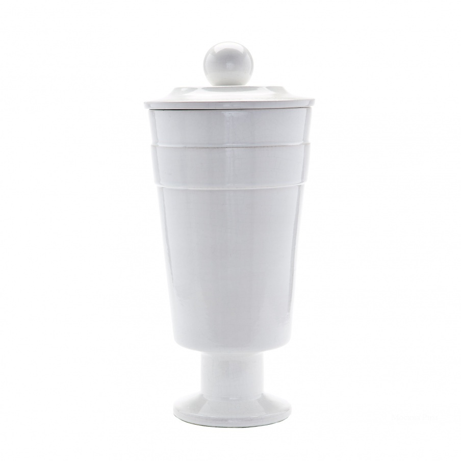 Ваза White Polar Vase - Large Dimond Home