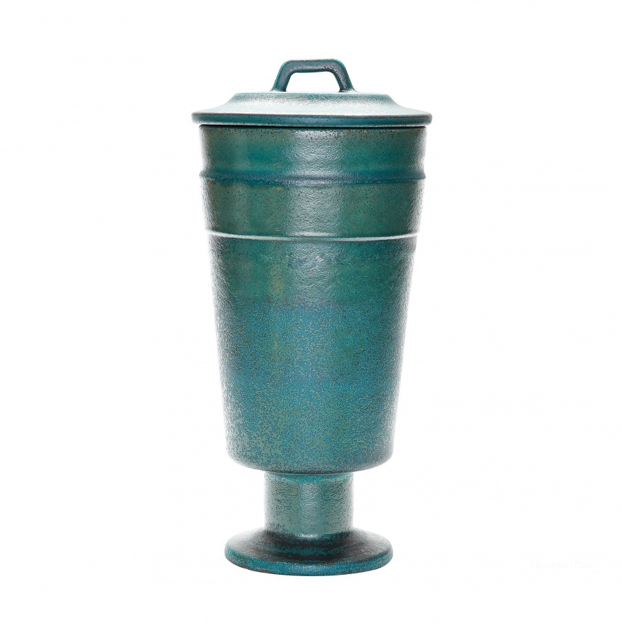 Ваза Metallic Patina Vase - Tall Dimond Home