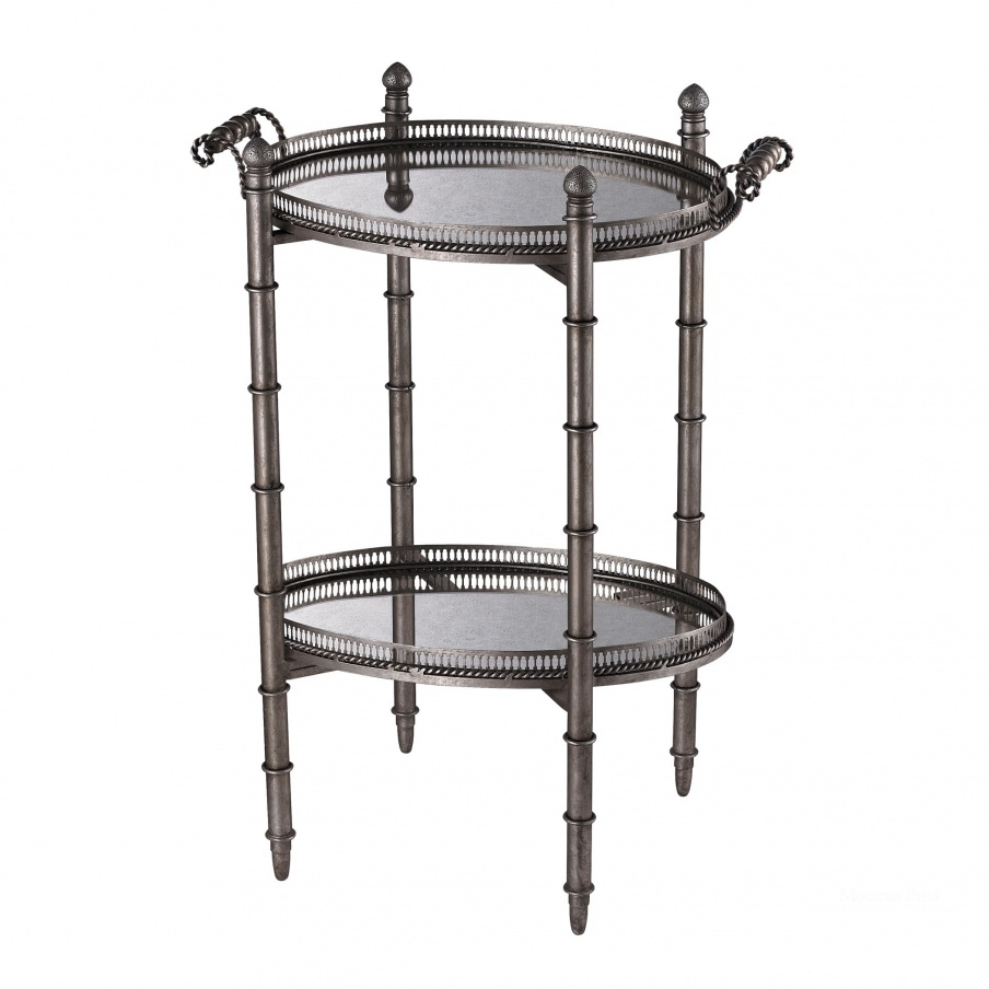 Стол Tyrella Silver Tray Table Dimond Home