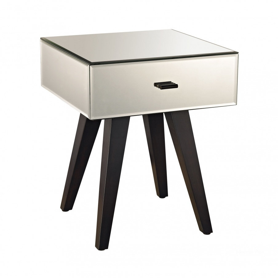 Стол Modern Leg Mirror Side Table Dimond Home