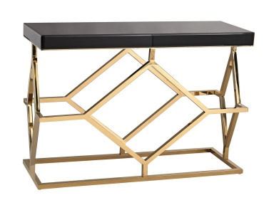 Стол письменный Black and Gold Deco Console Table Dimond Home