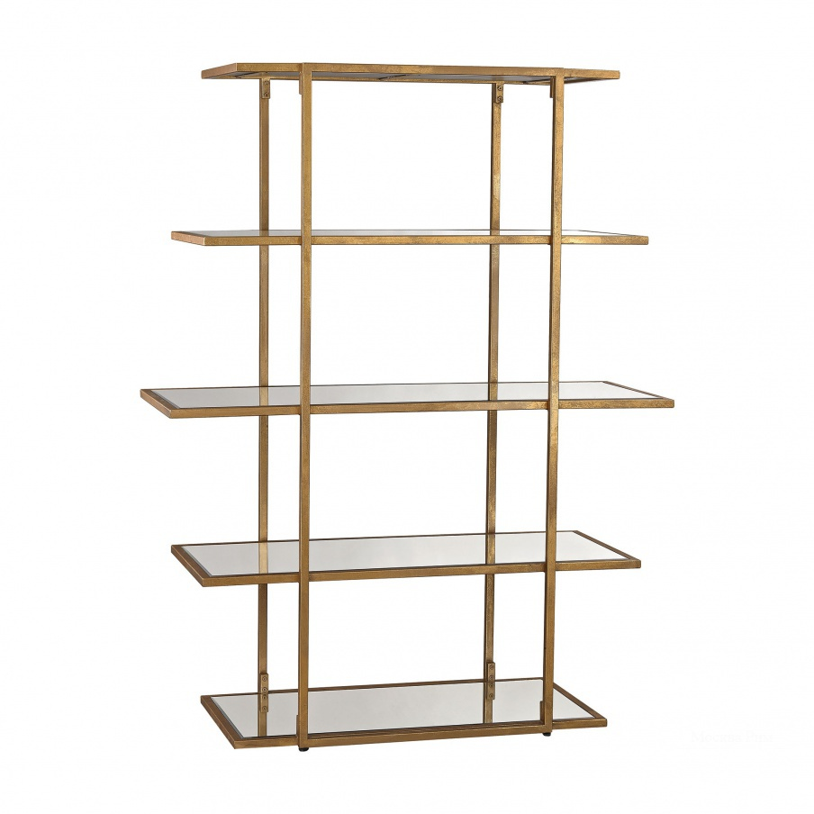 Стеллаж Diamond Gold Leaf Frame Shelf Dimond Home