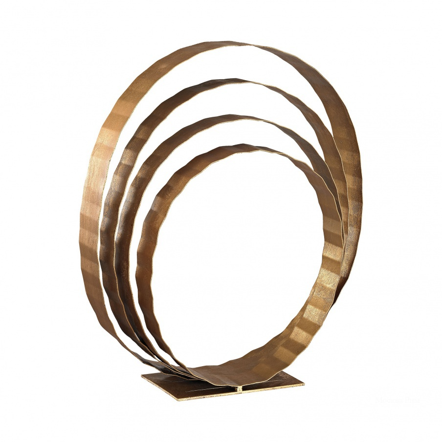 Статуэтка Concentric Rings Table Top Sculpture Dimond Home