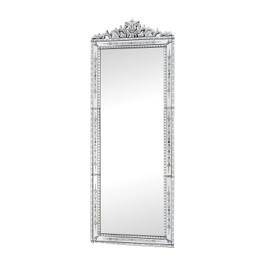 Настенное Camille Wall Mirror With Venetian Glass Frame
