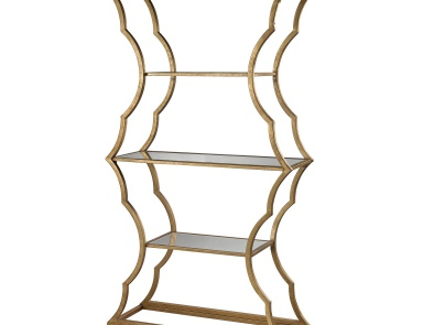 Стеллаж Metal Cloud Bookcase Dimond Home