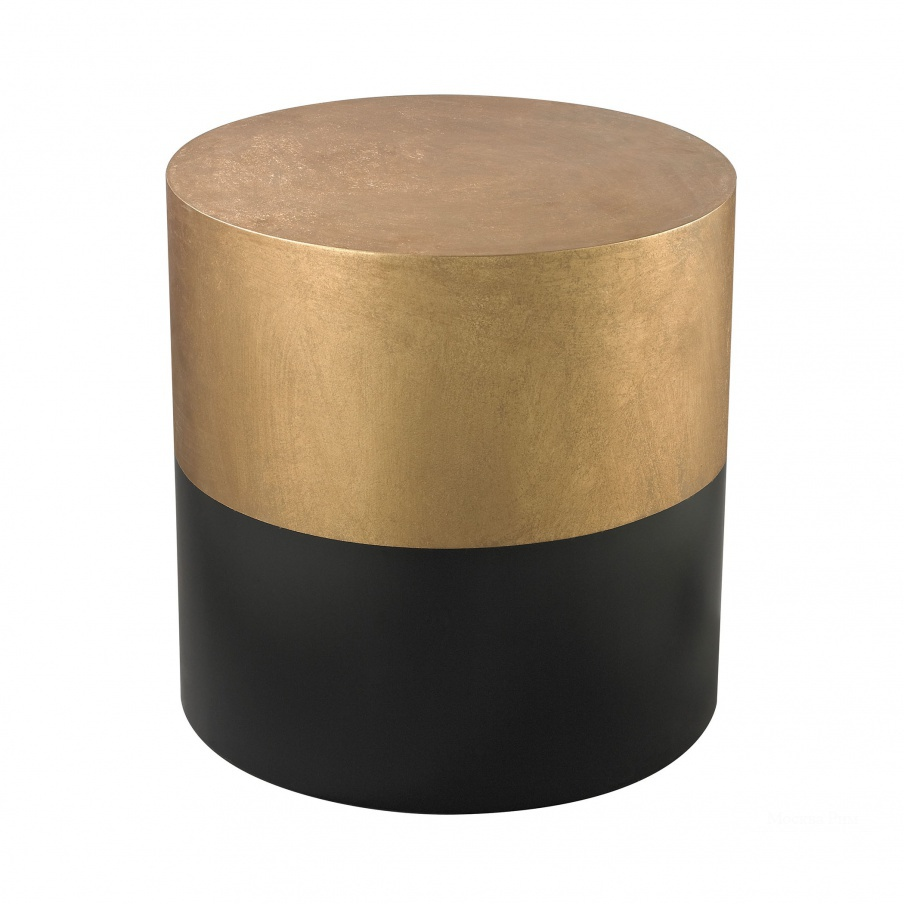 Стол Black And Gold Draper Drum Table Dimond Home