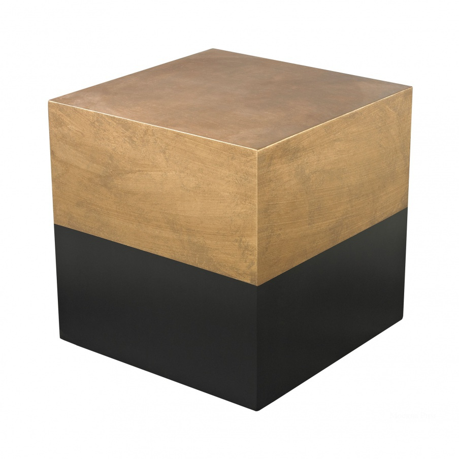 Стол Black And Gold Draper Cube Table Dimond Home