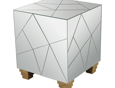 Табурет Mirrored Mosaic Cube Foot Stool Dimond Home
