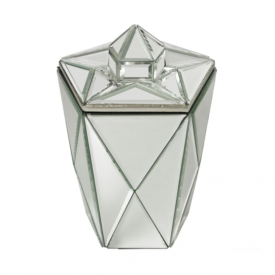 Аксессуар Mirrored Jewel Canister Dimond Home