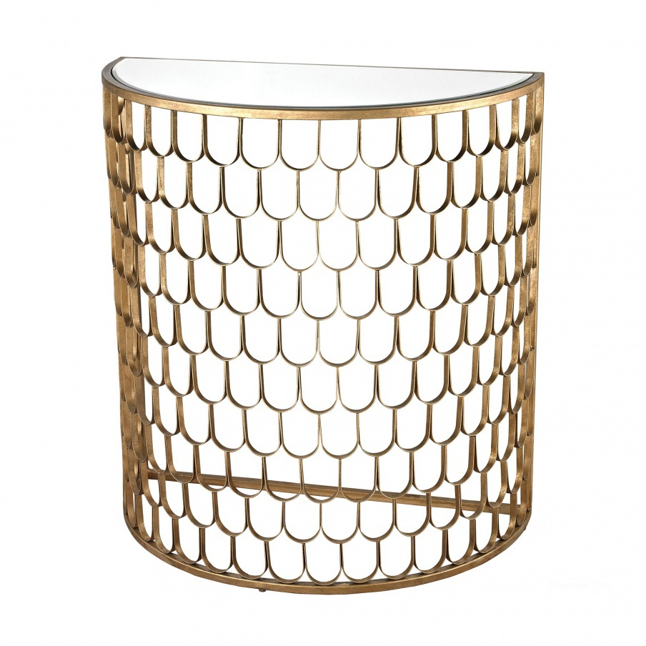 Стол Fish Scale Demi Lune Dimond Home