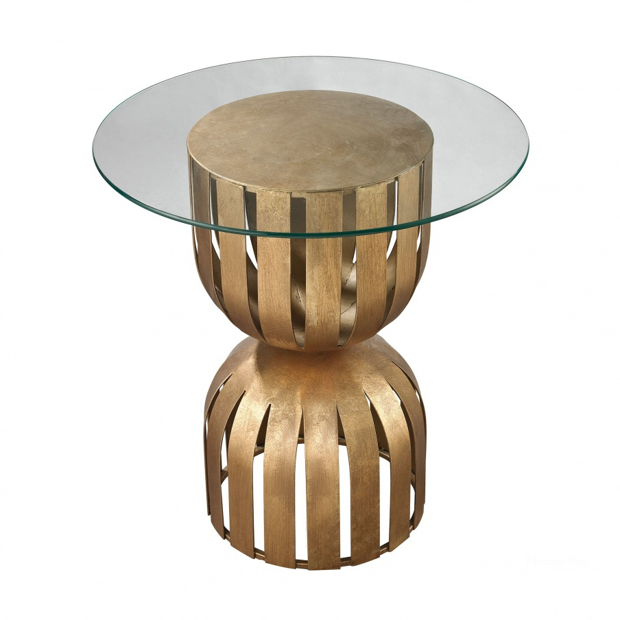 Стол Gold Leaf Olympia Side Table Dimond Home