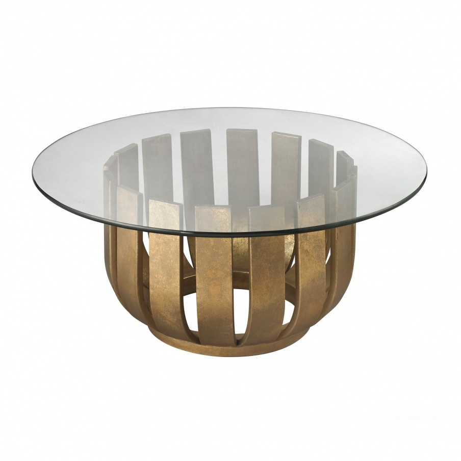 Стол Gold Leaf Olympia Coffee Table Dimond Home