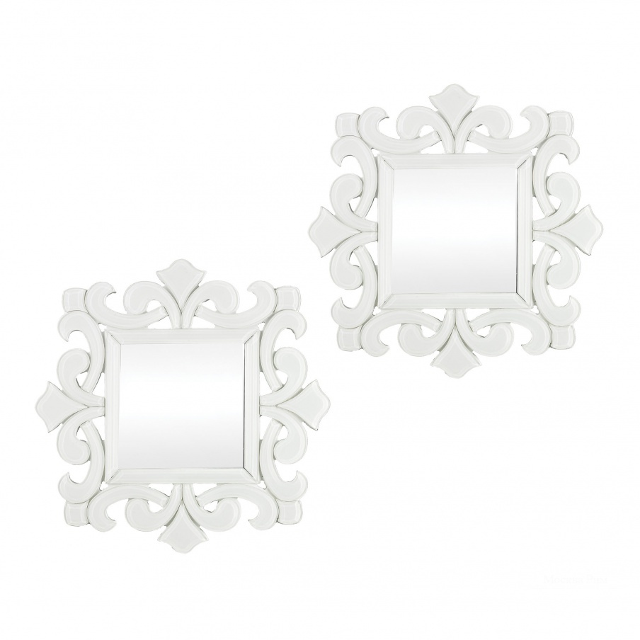 Настенное Haylee Mini Scroll Work Framed Mirrors - Set of 2 Dimond Home