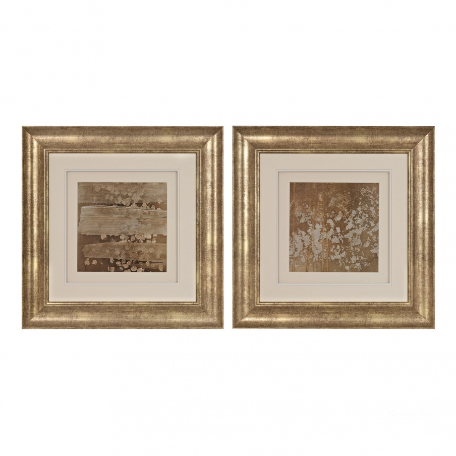 Картина Golden Rule Shadow Box I, II - Limited Edition Print Under Glass Dimond Home