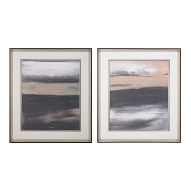 Картина Glide I, II- Limited Edition Print On Fine Art Paper Under Glass