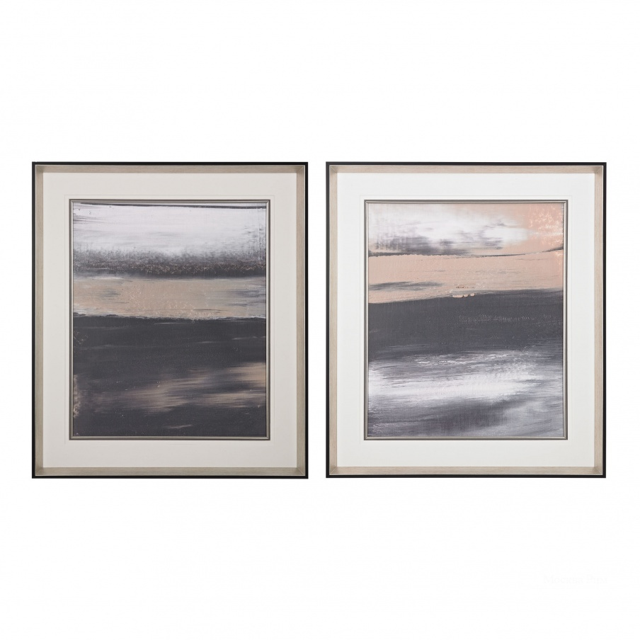 Картина Glide I, II- Limited Edition Print On Fine Art Paper Under Glass Dimond Home