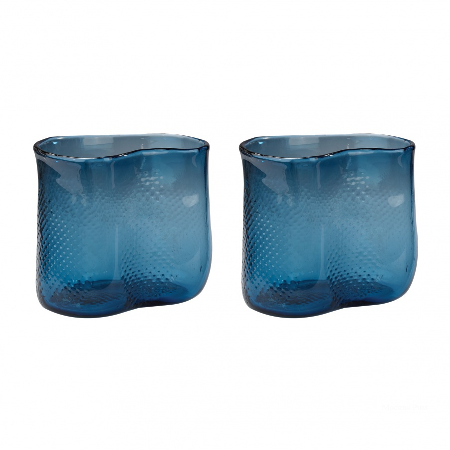 Ваза Navy Fish Net Glass Vase Dimond Home