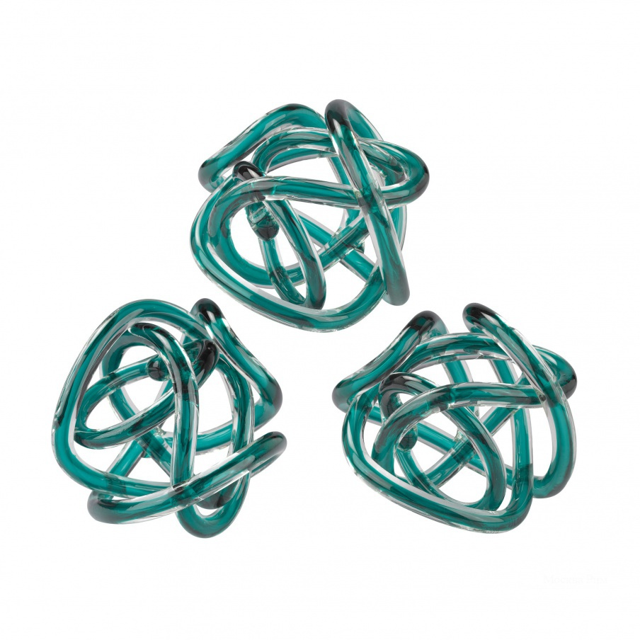 Аксессуар Aqua Glass Knot Dimond Home
