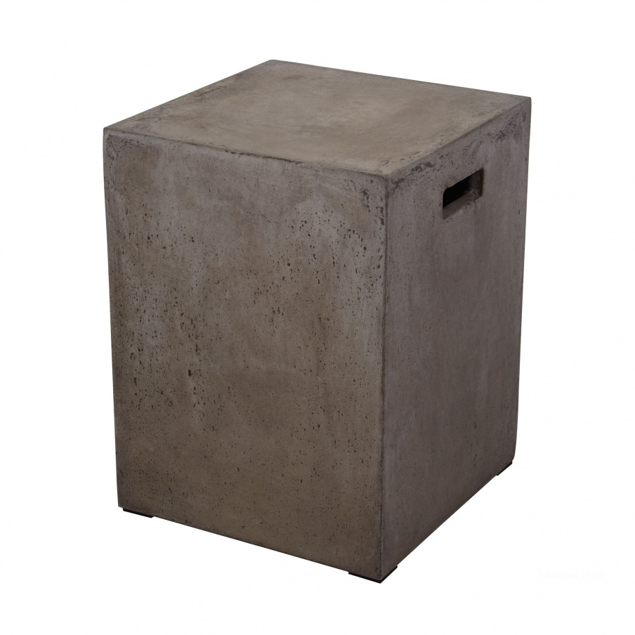 Табурет Square Handled Concrete Stool Dimond Home