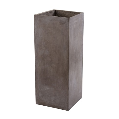Кашпо Tall Al Fresco Cement Planter