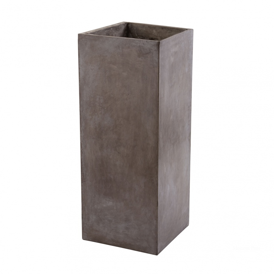 Кашпо Tall Al Fresco Cement Planter Dimond Home