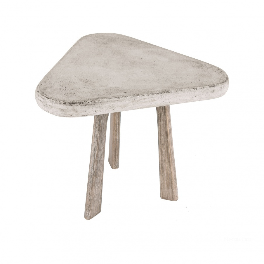 Стол Candy Side Table In Polished Concrete Dimond Home