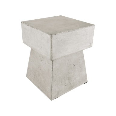 Табурет Mushroom Stool In Polished Concrete