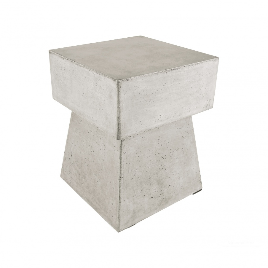 Табурет Mushroom Stool In Polished Concrete Dimond Home