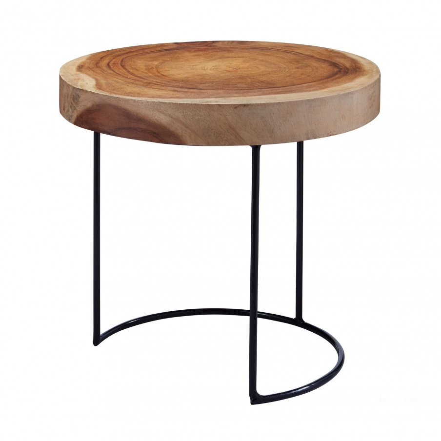 Стол Suar Wood Slab Table Dimond Home