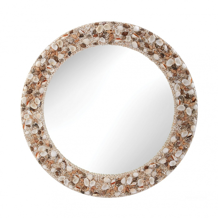 Настенное Round Shell Mirror Dimond Home