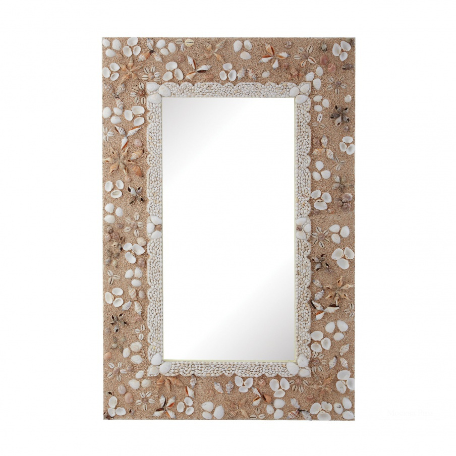 Настенное Rectangular Shell Mirror Dimond Home