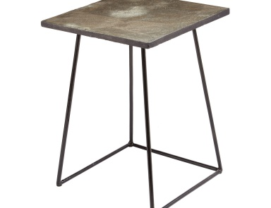 Стол Linear Concrete Accent Table Dimond Home