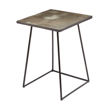 Стол Linear Concrete Accent Table