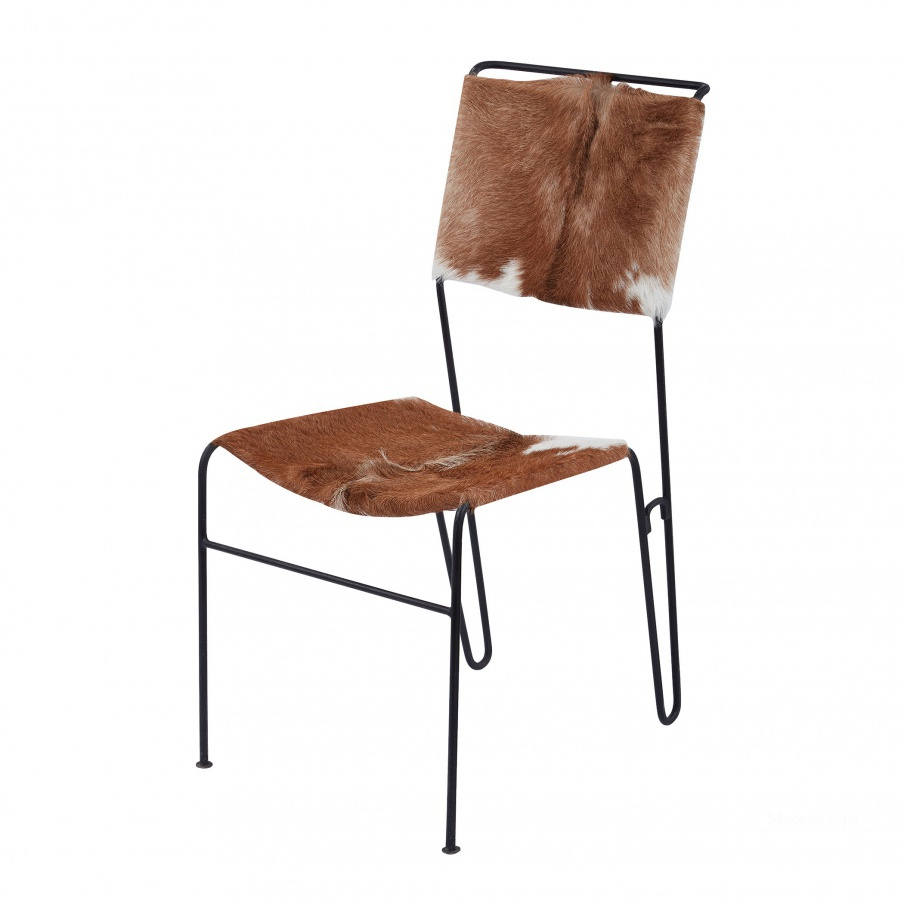 Стул Goatskin Tuft Side Chair Dimond Home