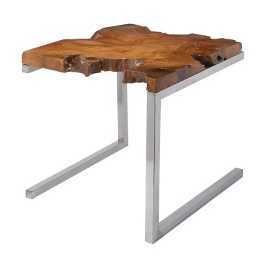 Стол Teak Table With Angular Base