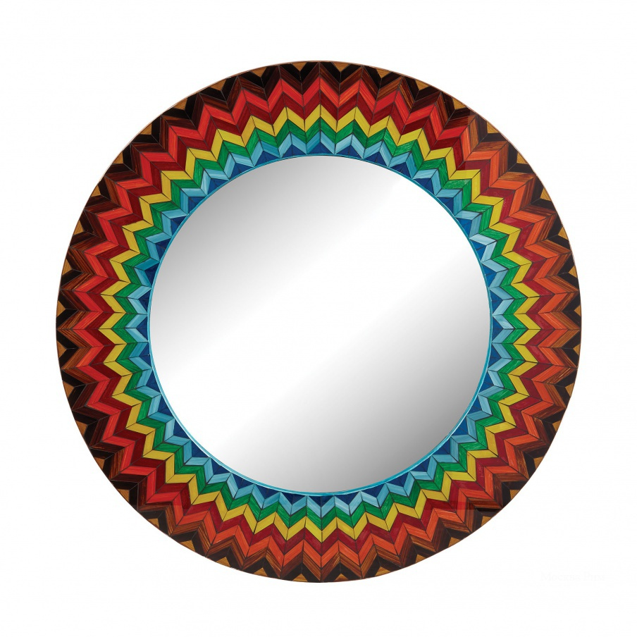 Настенное Vibrant Multi Starburst Mirror Dimond Home