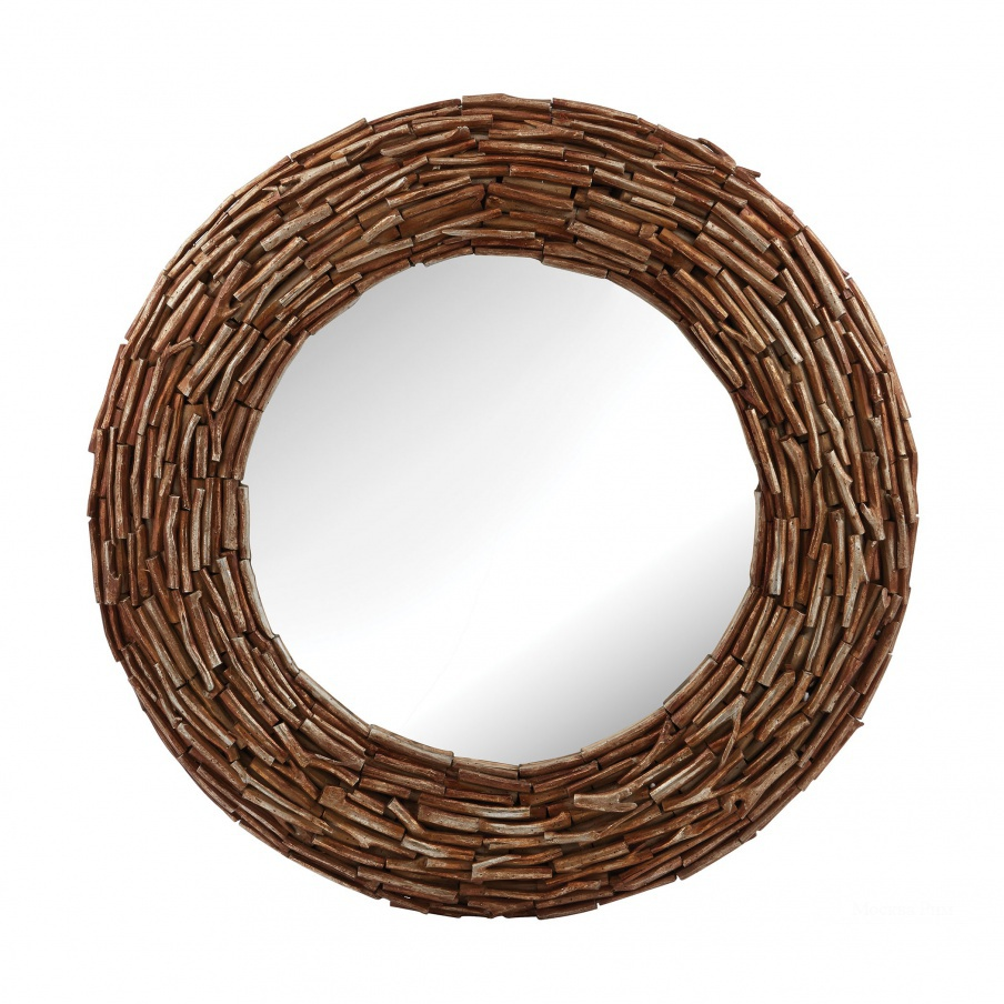 Настенное Round Twig Mirror Dimond Home