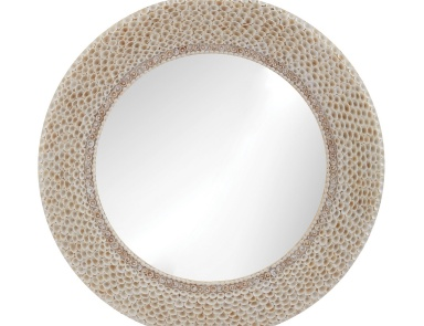 Настенное Ribbed Ring Shell Mirror Dimond Home