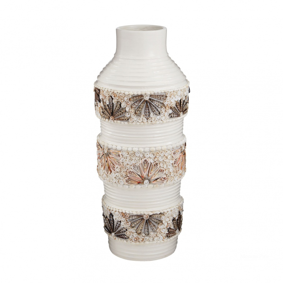 Ваза Terracotta Shell Vase Dimond Home