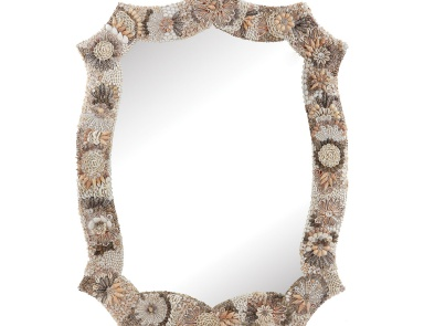 Настенное Long Antoinette Shell Mirror Dimond Home