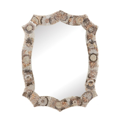 Настенное Long Antoinette Shell Mirror