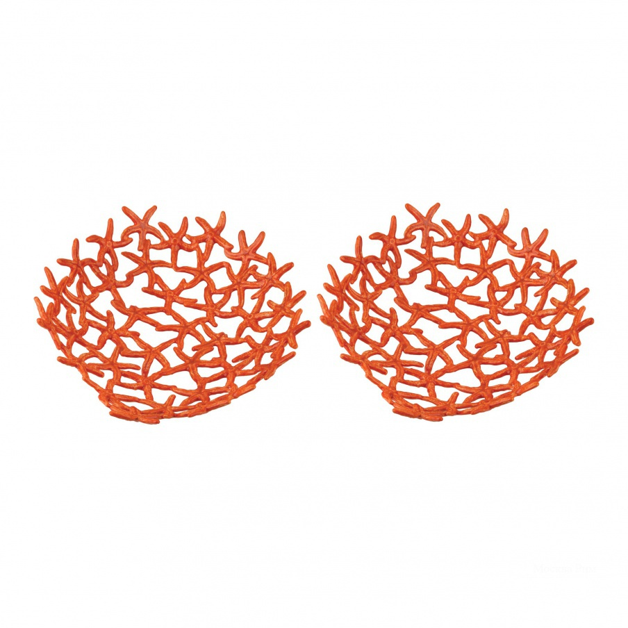 Аксессуар Hand Forged Orange Starfish Bowl Dimond Home