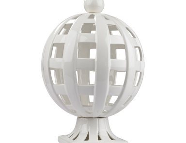Аксессуар Ceramic Basket Weave Trophy Dimond Home