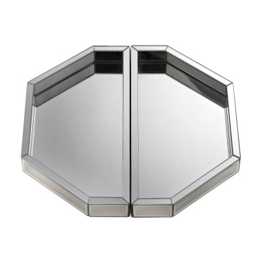 Поднос Set of Two Mirrored Trays