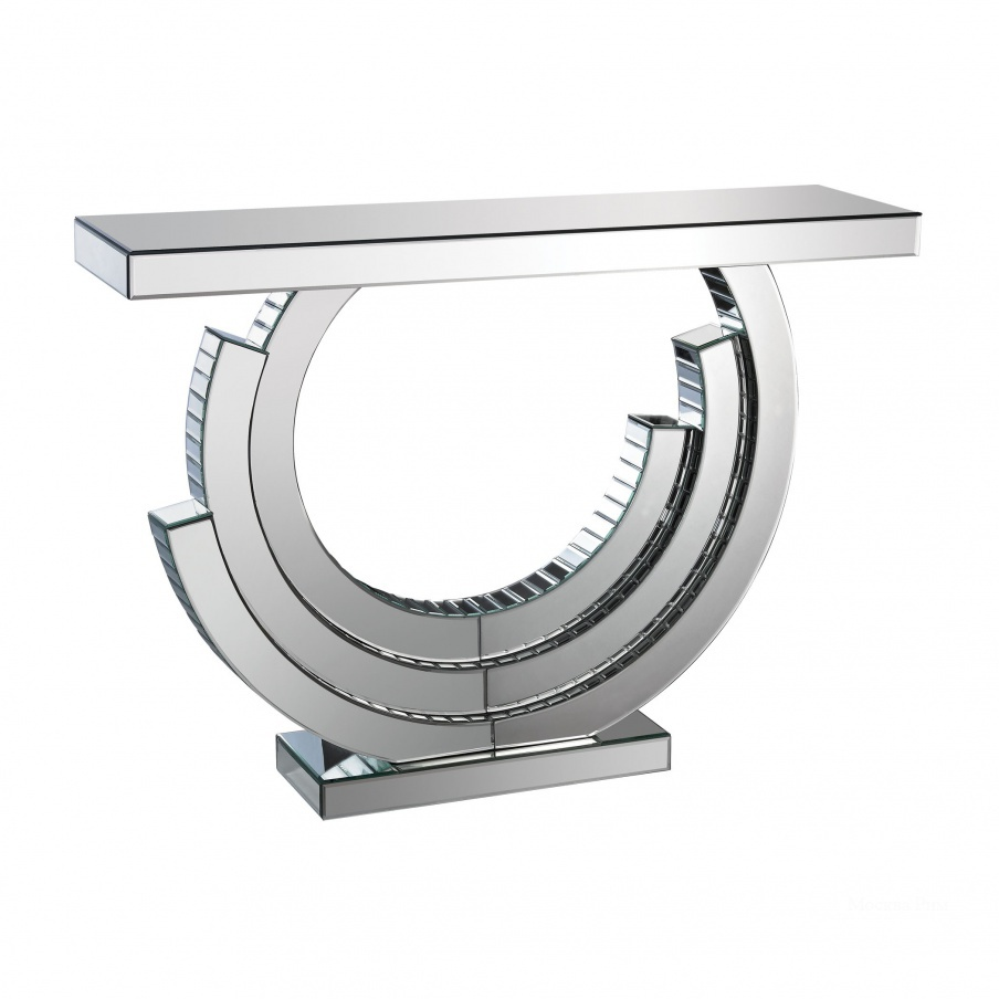 Консоль Layered Crescent Mirrored Console Dimond Home