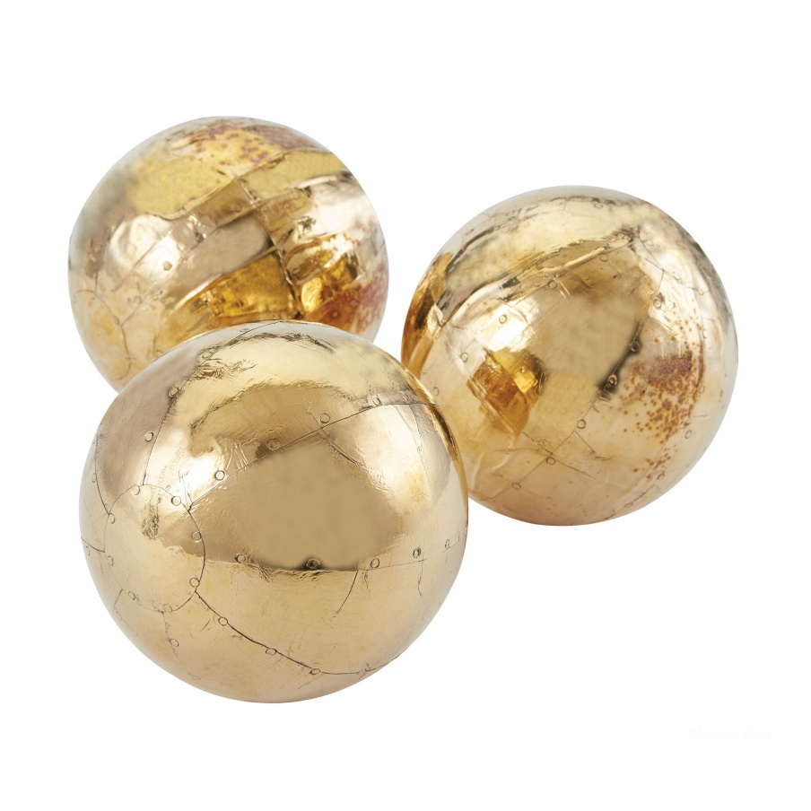 Аксессуар German Silver Metallic Orbs Dimond Home