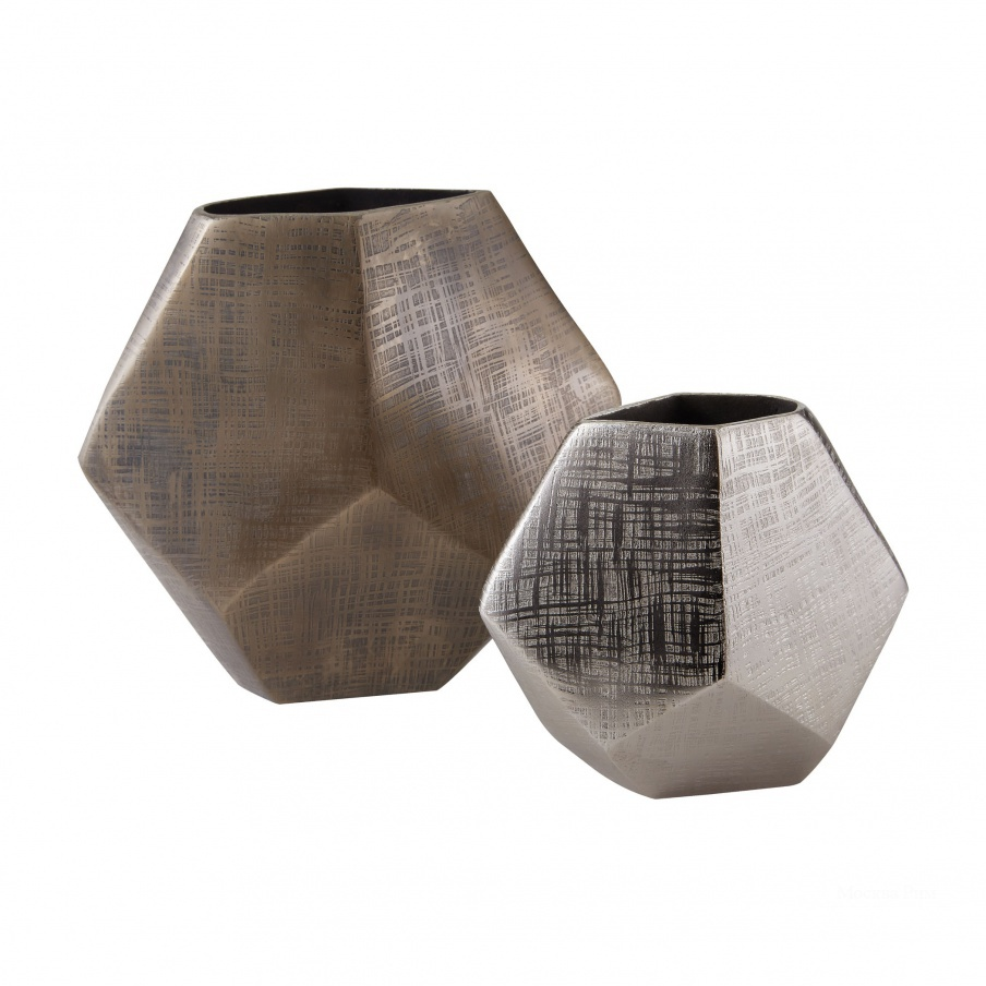 Ваза Faceted Cube Vases Dimond Home
