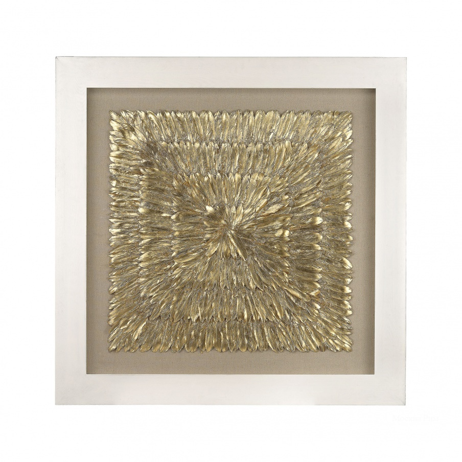 Настенный декор Gold Feather Spaturral Dimond Home