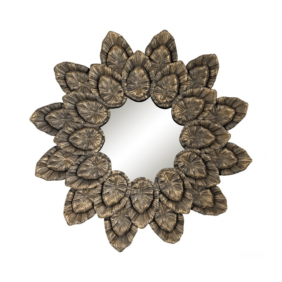 Настенное Metallic Petal Sourround Mirror Dimond Home